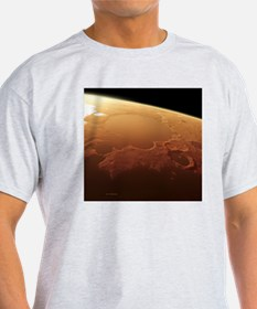 Water-filled Gusev crater, Mars - T-Shirt