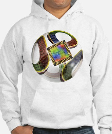 Football with chip - Hoodie