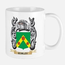 Curley Family Crest - Curley Coat of Arms Mugs