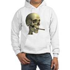 Smoking skeleton - Hoodie
