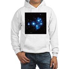 Optical image of the Pleiades star cluste - Hoodie