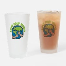 Love Your Mama Drinking Glass