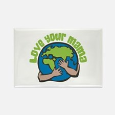 Love Your Mama Rectangle Magnet (100 pack)