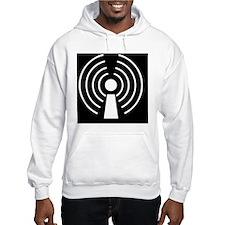 Wireless internet symbol - Hoodie