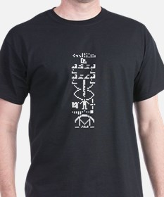 Arecibo Message T-Shirt