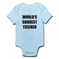 Worlds Goodest Teacher Onesie