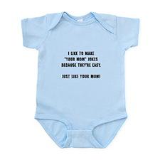 Your Mom Joke Infant Bodysuit