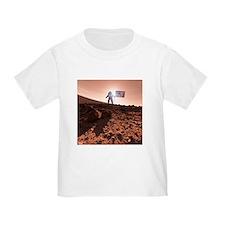 US exploration of Mars, artwork - T