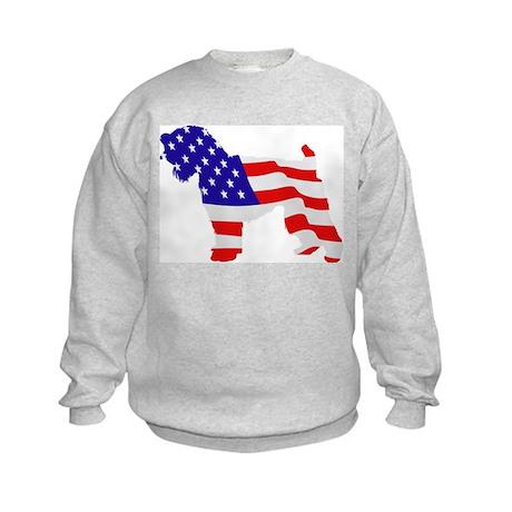 Soft Coated Wheaten Terrier Kids Sweatshirt