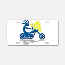Chopper Aluminum License Plate