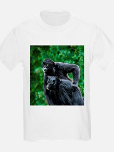 Colombian black-faced spider monkeys - T-Shirt