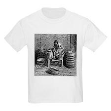 Edam production, 19th century - T-Shirt
