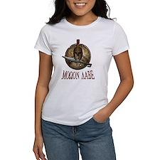 Molon Labe Spartan w Sword Tee