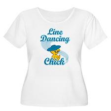 Line Dancing Chick #3 T-Shirt