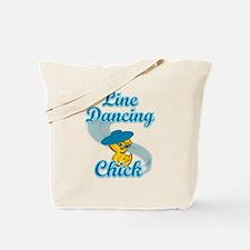Line Dancing Chick #3 Tote Bag