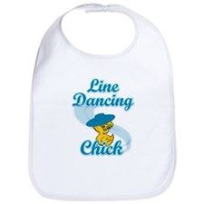 Line Dancing Chick #3 Bib