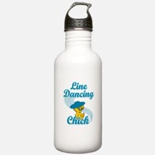 Line Dancing Chick #3 Water Bottle