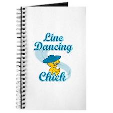 Line Dancing Chick #3 Journal