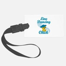 Line Dancing Chick #3 Luggage Tag