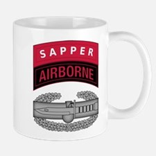 CAB w Sapper - Abn Tab Mug