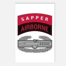 CAB w Sapper - Abn Tab Postcards (Package of 8)