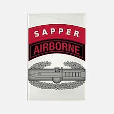 CAB w Sapper - Abn Tab Rectangle Magnet