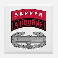 CAB w Sapper - Abn Tab Tile Coaster