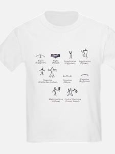Ideographs, artwork - T-Shirt