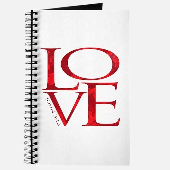 Love - John 3:16 Journal