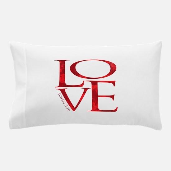 Love - John 3:16 Pillow Case