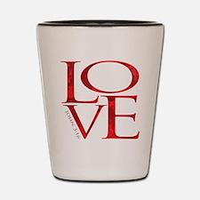 Love - John 3:16 Shot Glass