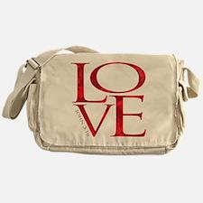 Love - John 3:16 Messenger Bag