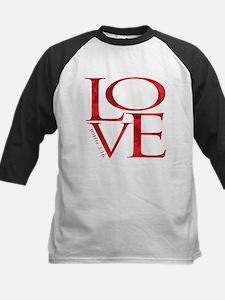 Love - John 3:16 Kids Baseball Jersey