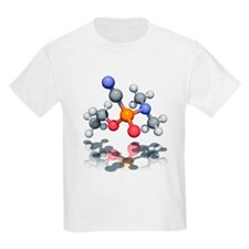 Tabun nerve agent molecule - T-Shirt