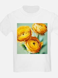 Ranunculus flowers (Ranunculus sp.) - T-Shirt