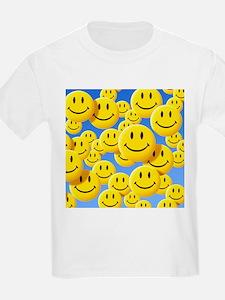 Smiley face symbols - T-Shirt