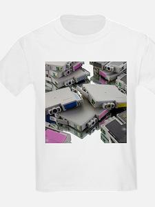 Used printer cartridges - T-Shirt