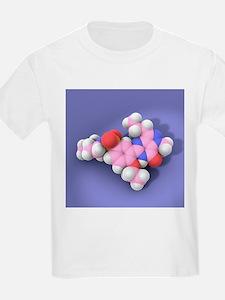 Viagra drug molecule - T-Shirt