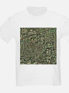 Crawley, UK, aerial image - T-Shirt