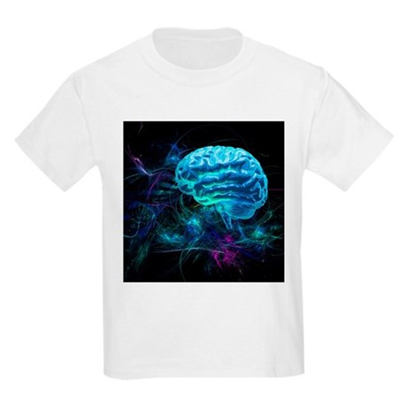 Brain research, conceptual artwork - Kids Light T-