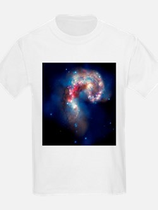 Antennae galaxies, composite image - T-Shirt