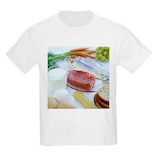 Balanced diet - T-Shirt