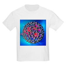 Buckyball molecule, artwork - T-Shirt