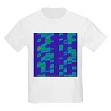 DNA autoradiogram, artwork - T-Shirt