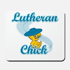 Lutheran Chick #3 Mousepad