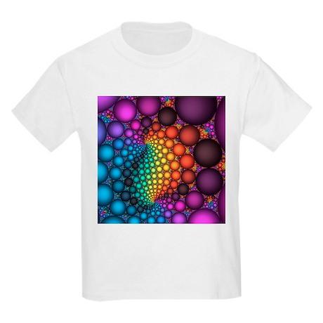 Fractal, artwork - Kids Light T-Shirt