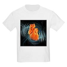 Heartbeat, conceptual artwork - T-Shirt