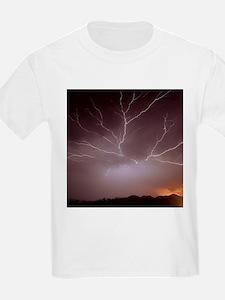 Intra-cloud lightning at night, over Phoenix - Kid