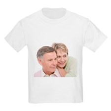 Happy senior couple - T-Shirt