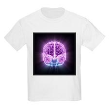 Human brain,computer artwork - T-Shirt